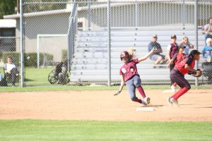 PHOTOS: Varsity Softball vs Village Christian 4/12/18