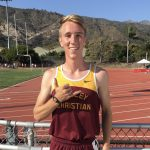 Josh Rupprecht Breaks School's 3200m Record