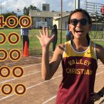 Marian Ledesma Breaks 5th School Record