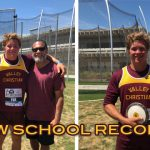 Gavin Fua Breaks School Discus Record