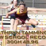 Kathryn Tamminga Breaks 34 Year Old School Record