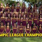 Girls Track Wins League Championship