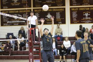 PHOTOS: Boys Varsity Volleyball vs Heritage Christian 5/1/18