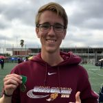 Josh Rupprecht Breaks Own School Record