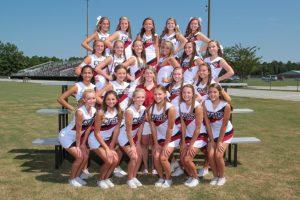 2015 JV Cheerleading