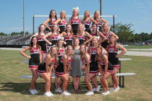 2015 Varsity Cheerleading