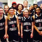 Carolina Forest High School Girls Varsity Basketball beat Mount Tabor High School 42-32