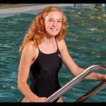 CFHS Girls Swimmer Taylor Steele Makes Toast of the Coast Team