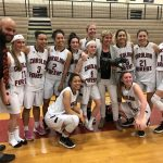 Girls Varsity Basketball beats Sumter 43 – 42