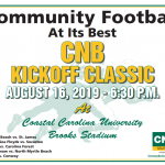 Panthers Take on Aynor in the CNB Kickoff Classic-Aug 16 at Coastal Carolina