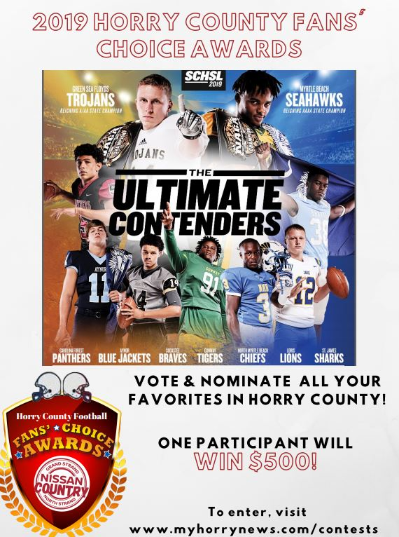 2019 Horry County Fans' Choice Awards