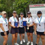 Girls Varsity Golf finishes 3rd place at Lady Blue Jacket