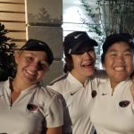 Girls Varsity Golf finishes 1st place at 4 team match