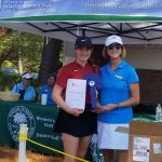 Mia Gray finishes runner-up and the Girls Varsity Golf finishes 6th place at WSCGA Foundation