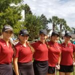 Girls Varsity Golf finishes 1st place at Regions