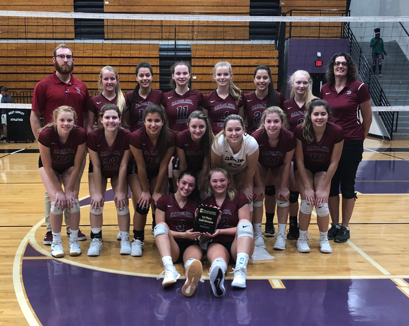 Panthers Volleyball – 2019 Region VI Champions