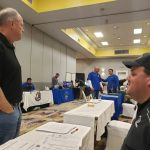 Marc Morris at the SC Coaches Association Recruiting Fair