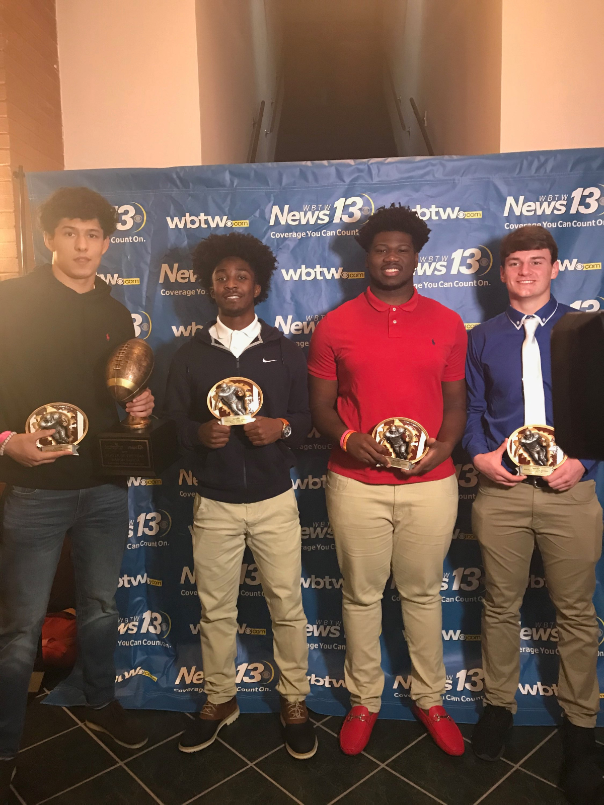 Panthers Honored by News 13