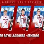 2020 Boys Lacrosse Seniors
