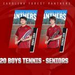 2020 Boys Tennis Seniors
