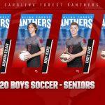 2020 Boys Soccer Seniors