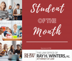 CFHS Student of the Month – Sponsored by The Law Office of Ray Winters and My Horry News