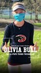 Olivia Bull Finshes 5th the the State Individual Tennis Tournament