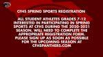 Carolina Forest Spring Sports Registration