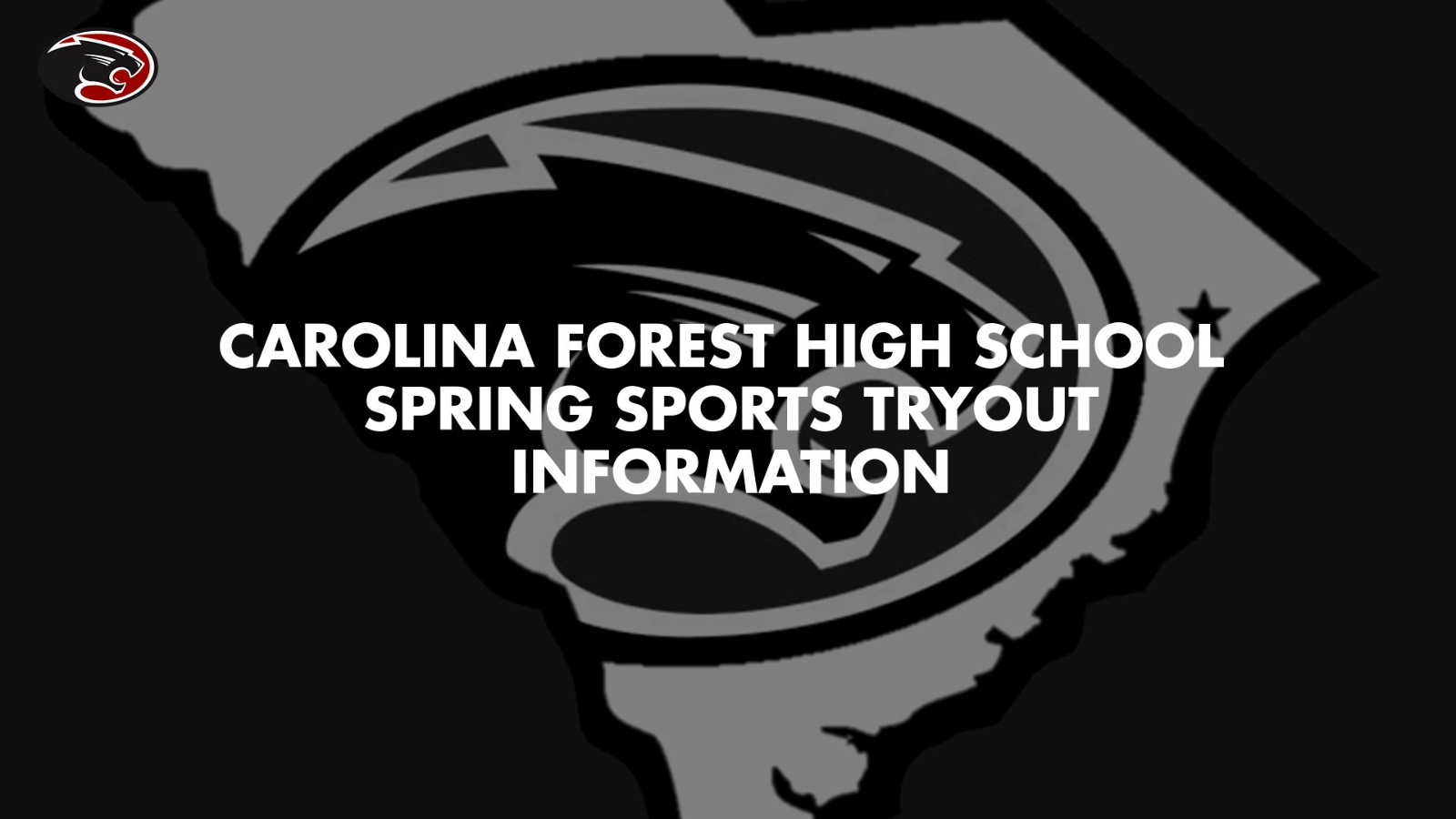 2021 Spring Sports Tryout Information