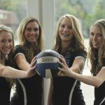 Volleyball Seniors Recognized