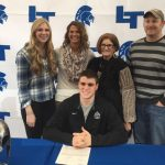 Conlan Berger signs with Colorado School of Mines!
