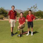 HS Golf Wins 2017 CAA State Championship!