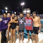 Group photo of the swim team.