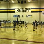 Cicero Preparatory Academy Girls Middle School Volleyball MS B Team beat Tempe Prep 2-0