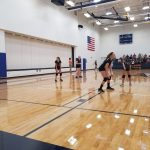 Cicero Preparatory Academy Girls Middle School Volleyball MS B Team beat Lincoln Prep 2-1