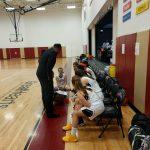 Girls Varsity Basketball falls to Ville de Marie 36 – 33
