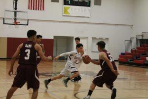 Boys JV Basketball vs. SW Leadership 1/30/18