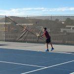 Coed Varsity Tennis falls to American Leadership Academy 7 – 2