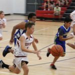 Boys MS Basketball falls to Lincoln Prep 22 – 12