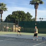 Coed Middle School Tennis beats Chandler Preparatory Academy 5 – 4