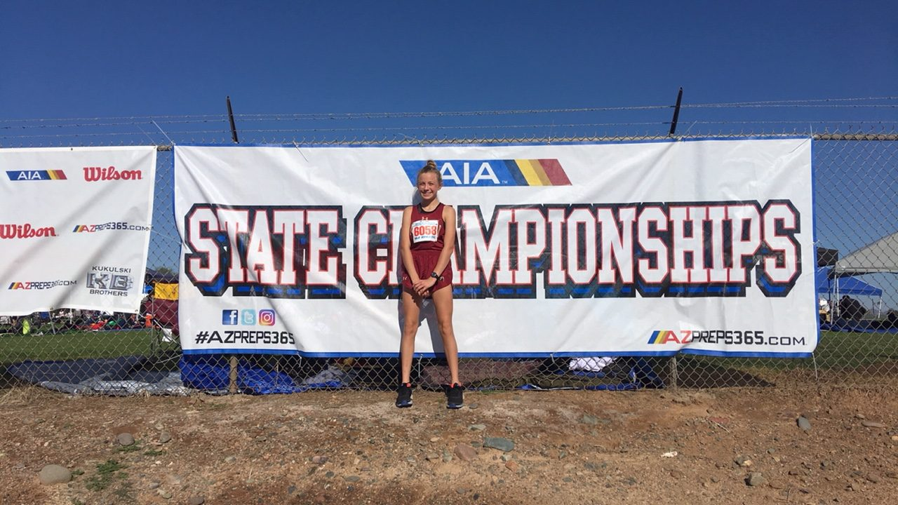 Cravath Breaks Own School Record at State Meet!