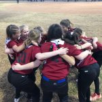 Centurions softball team strikes first, but its not enough to beat Veritas Prep.