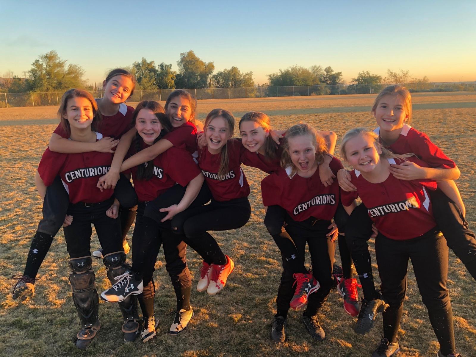 MS Softball Gets First Win Streak