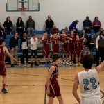 Varsity Boys BB Falls to Veritas