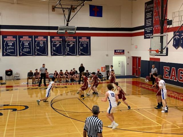 Cicero Varsity Boys BB Falls In Region Opener