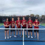 Varsity Tennis Starts the Season at Chandler Prep