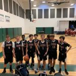 Near Sweep for MS Basketball at Arete