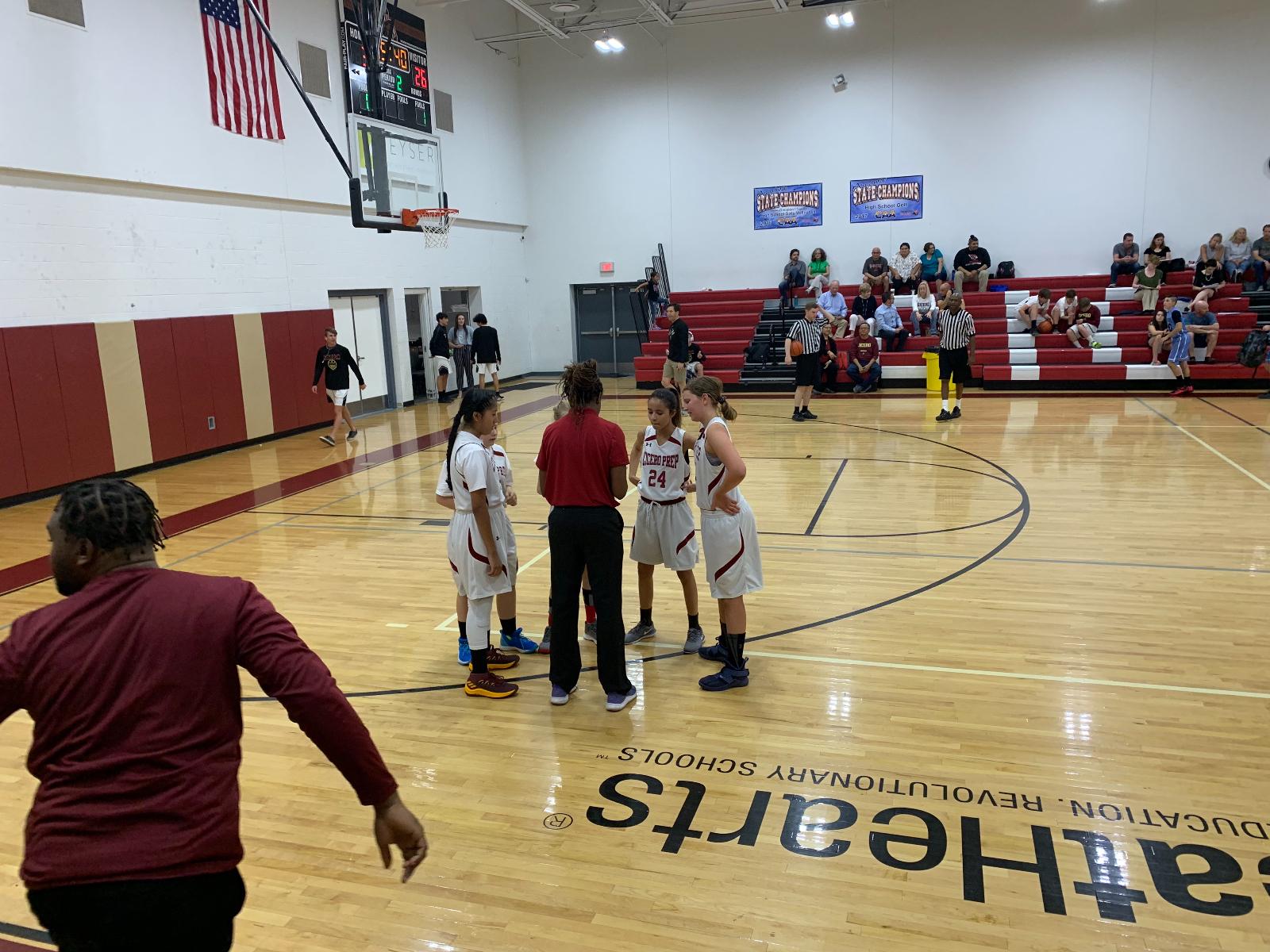 MS Girls Basketball Season Comes to an End.