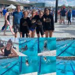 Pictures of the swim team.