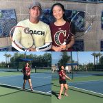 Qin Nebgen Competes at AIA State Tennis Tournament